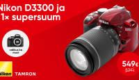 Ideaalne peegelkaamera komplekt alustavale fotohuvilisele vaid 549€