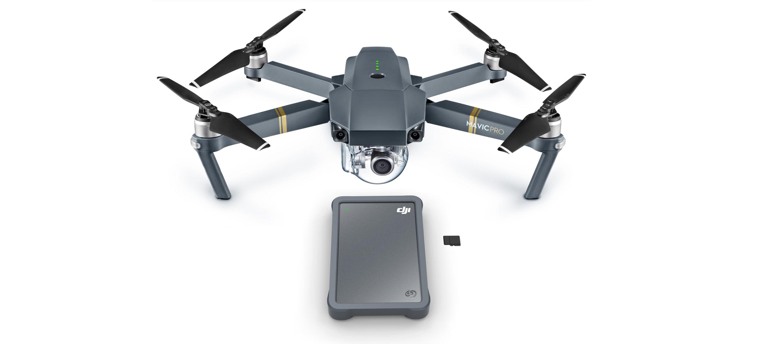 DJI ja Seagate tutvustasid Fly Drive välist kõvaketast droonikasutajale