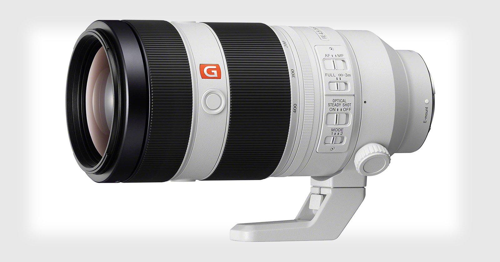 Sony FE 100-400mm f/4.5-5.6 OSS on uus G Master seeria teleobjektiiv