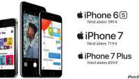 Apple iPhone SE suured vennad nüüd samuti kevadiselt soodsate hindadega
