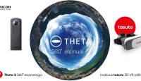 Unikaalse 360° video- ja fotokaamera Ricoh Theta S ostul kingitus