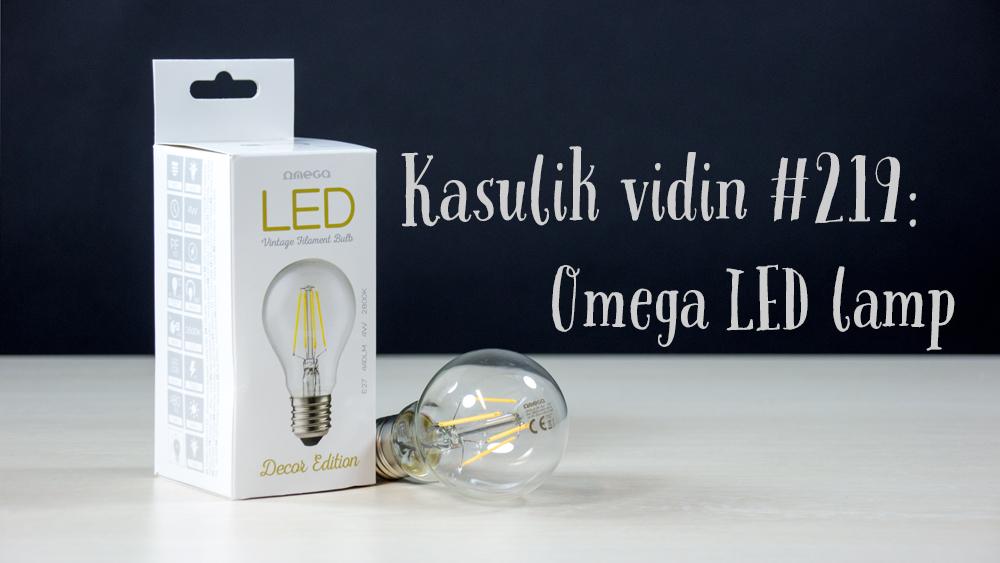 Kasulik vidin #219: Omega LED lamp