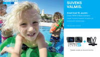Suveks valmis - GoPro kroonjuveeli Hero5 Black ostul kaasa praktilised kingitused