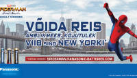 Võida reis – Panasonic patareide Ämblikmehe mäng viib Sind New Yorki!