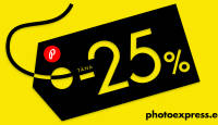 Paberfotode tellimine suure e-ostlemise päeva puhul 25% soodsam