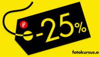 Suur e-ostlemise päev - kõik fotokursused allahinnatud