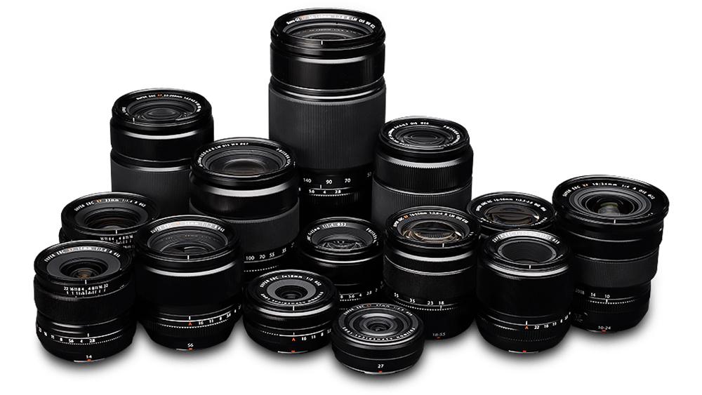 10 objektiivi, mida kõige rohkem Fujifilm hübriidkaameratele ostetud