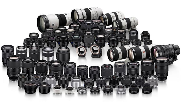 10 populaarseimat objektiivi Sony hübriidkaameratele