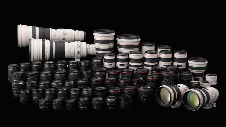 10 kõige popimat objektiivi Canoni peegelkaameratele
