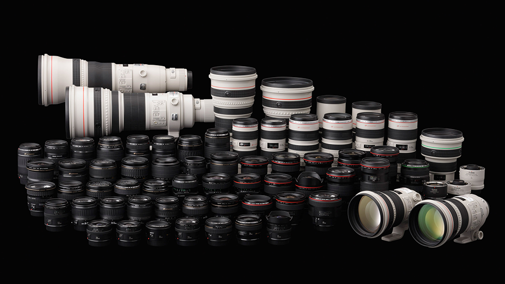 Pidupäev Canoni leeris - tähistati juba 130 miljoni EF objektiivi ning 90 miljoni EOS peegelkaamera tootmist