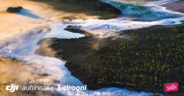 """Tõuse kõrgustesse - alanud on DJI fotokonkurss """"Kõrgelt"""" 2017"""