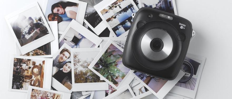 Nüüd saadaval: ruudukujuline Fujifilm Instax kaamera