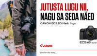 Canon EOS 6D Mark II täiskaadri ostul meie poolt kingitus 229€ väärtuses