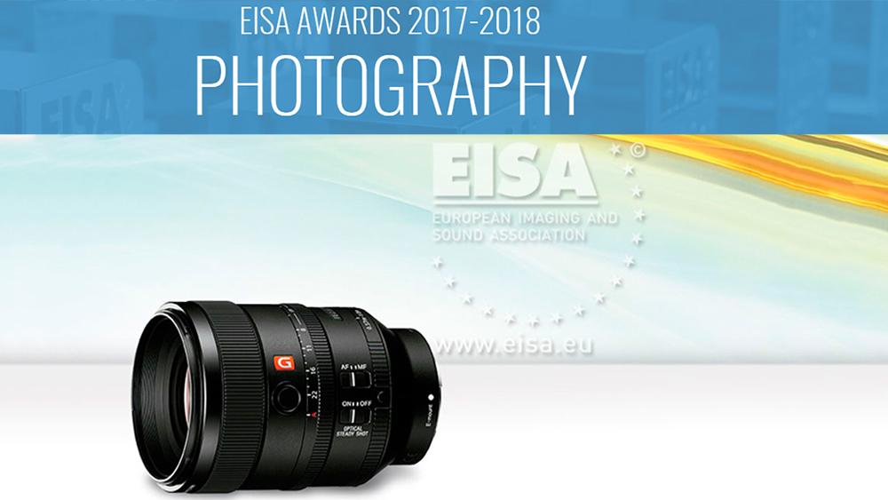 Sony domineeris EISA 2017 auhindadega kaamerate kategoorias