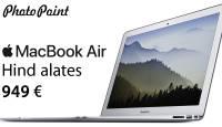 Stiilselt tagasi kooli - ihaldusväärse Apple Macbook Air hind nüüd alates 949€