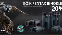 Vaatamise kunst - suur kevadine Pentax binoklite soodusmüük