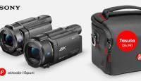 Sony võimsa videokaamera ostuga kaasa kingitus!
