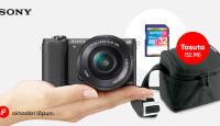 Oktoobrikuus Sony hübriidkaamera ostuga kaasa 2 kingitust
