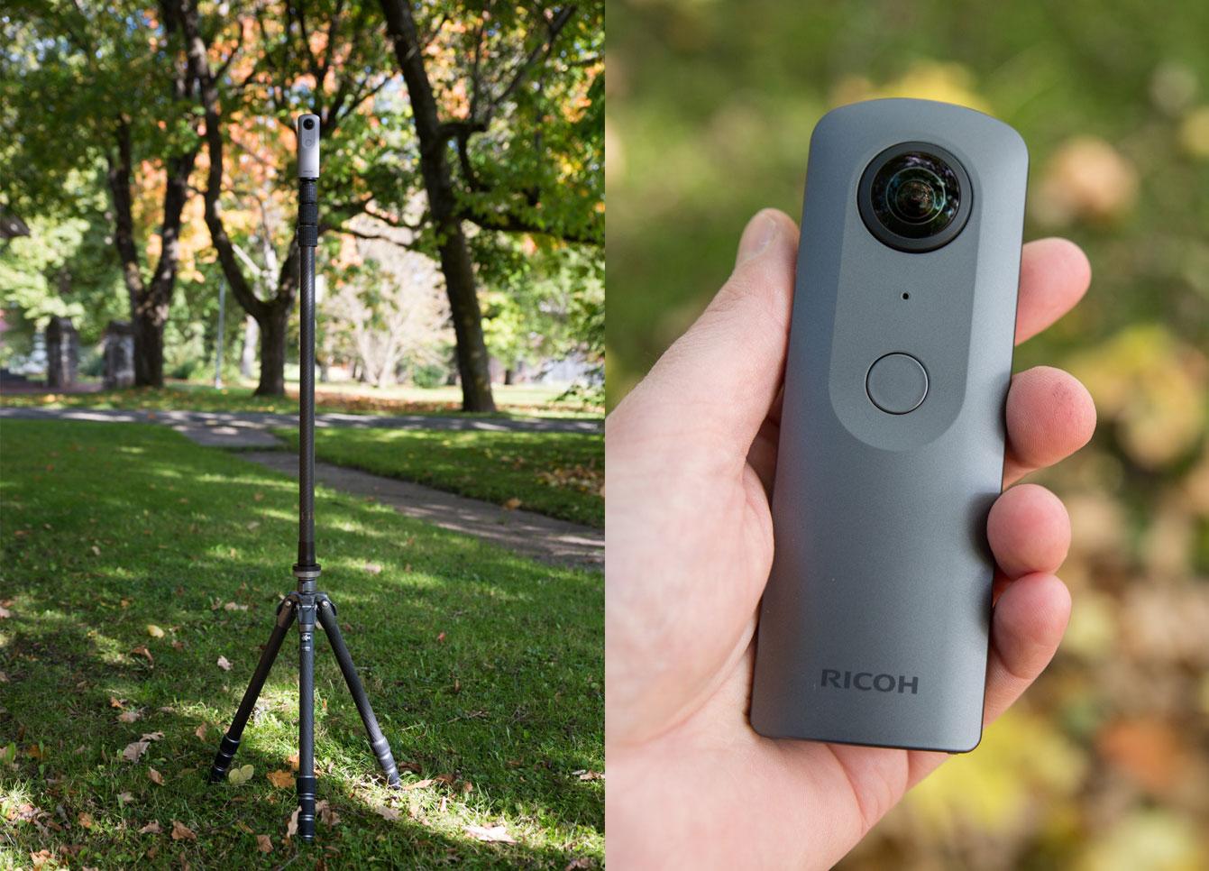 Ricoh Theta S rakenduse uusversioon toob olulised täiustused 360º videote salvestamisel ja haldamisel