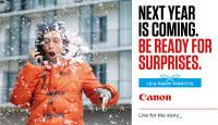 Valitud Canon kaamerate ostul saad kingituseks Photopointi veebikaubamaja kinkekaardi