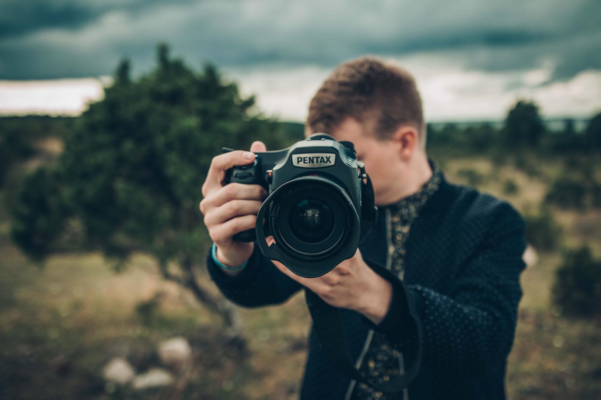 Pea ees tundmatusse koos Pentax 645Z keskformaatkaameraga