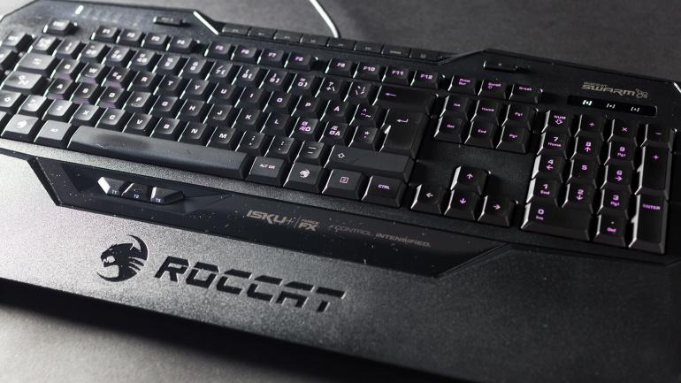 Digitest.ee: survetundlik klaviatuur Roccat Isku+ Force FX tulevastele seifimuukijatele