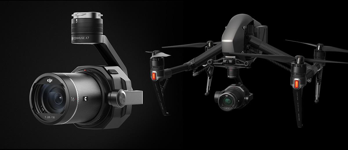 DJI uus droonikaamera Zenmuse X7 on videomeeste tööriist Inspire 2 jaoks