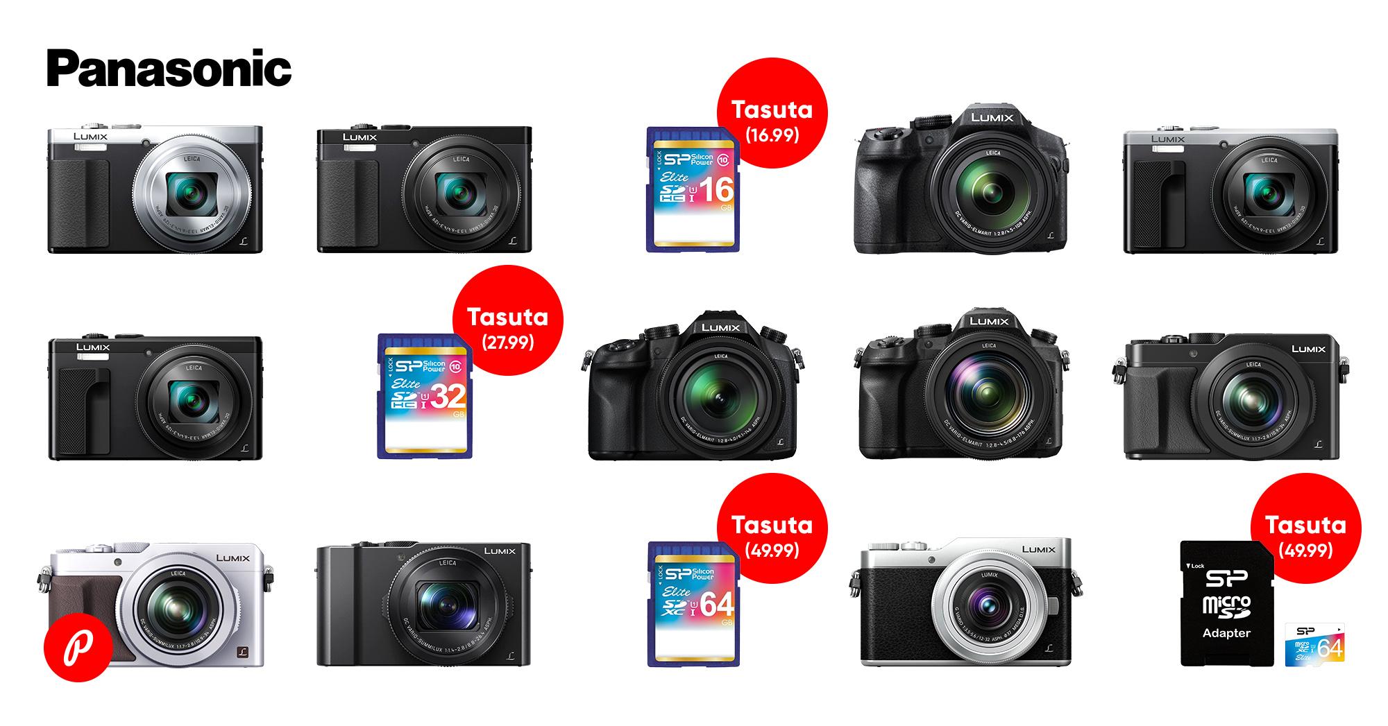 Nendest Panasonic fotokaamerate eripakkumistest Sa küll ilma ei taha jääda