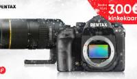 Valitud Pentax peegelkaamera või objektiivi ostul saad kingituseks Photopointi veebikaubamaja kinkekaardi