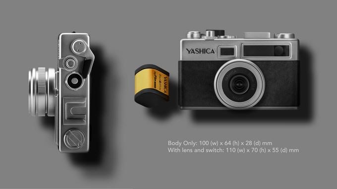 Yashica uus kaamera on avalikustatud ning selletaolist ei ole veel nähtud