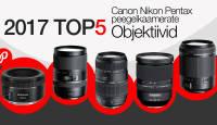 Photopointi TOP 5 – enim ostetud objektiivid peegelkaameratele aastal 2017