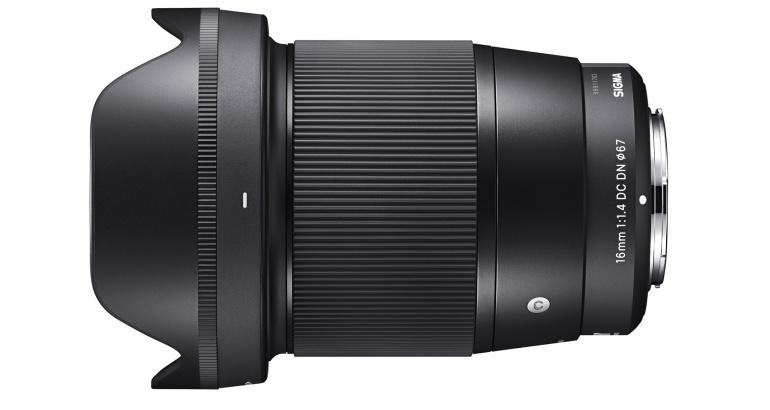Sigmal on arendusjärgus uus lainurkobjektiiv hübriidkaameratele – 16mm f/1.4 DC DN | Contemporary