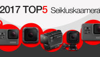 Photopointi TOP 5 – enim ostetud seikluskaamerad aastal 2017