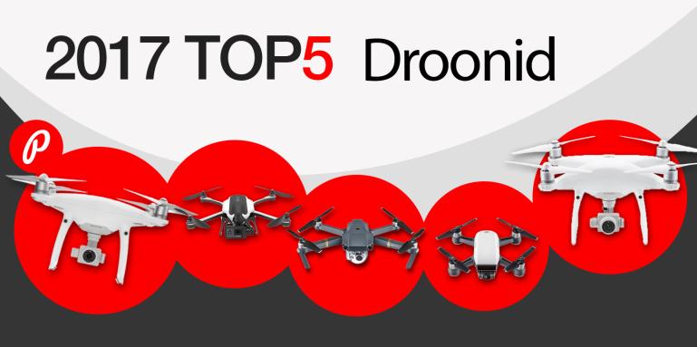 Photopoint TOP 5 – enim ostetud droonid aastal 2017