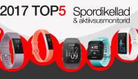 Photopointi TOP 5 – enim ostetud spordikellad ja aktiivsusmonitorid aastal 2017