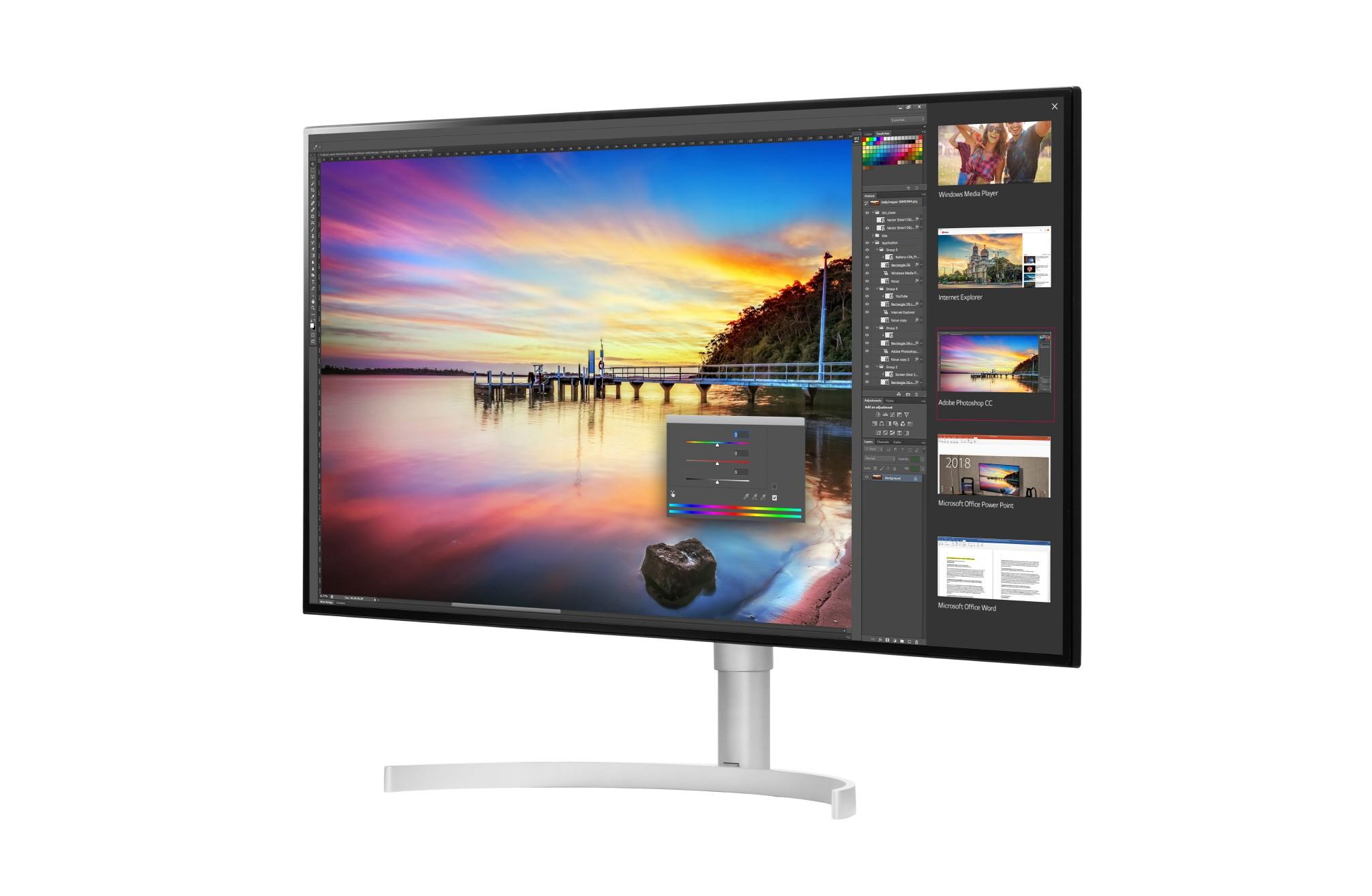 LG tippklassi monitorid rakendavad pildi kuvamisel nanotehnoloogiat