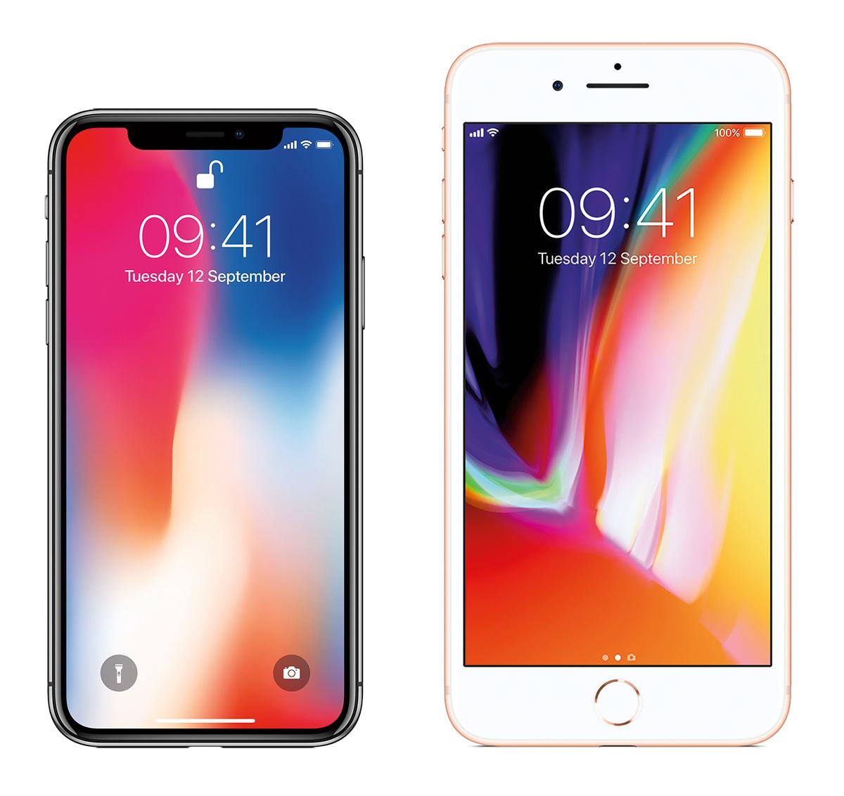 iPhone X või iPhone 8 - kumba nutitelefoni eelistada?