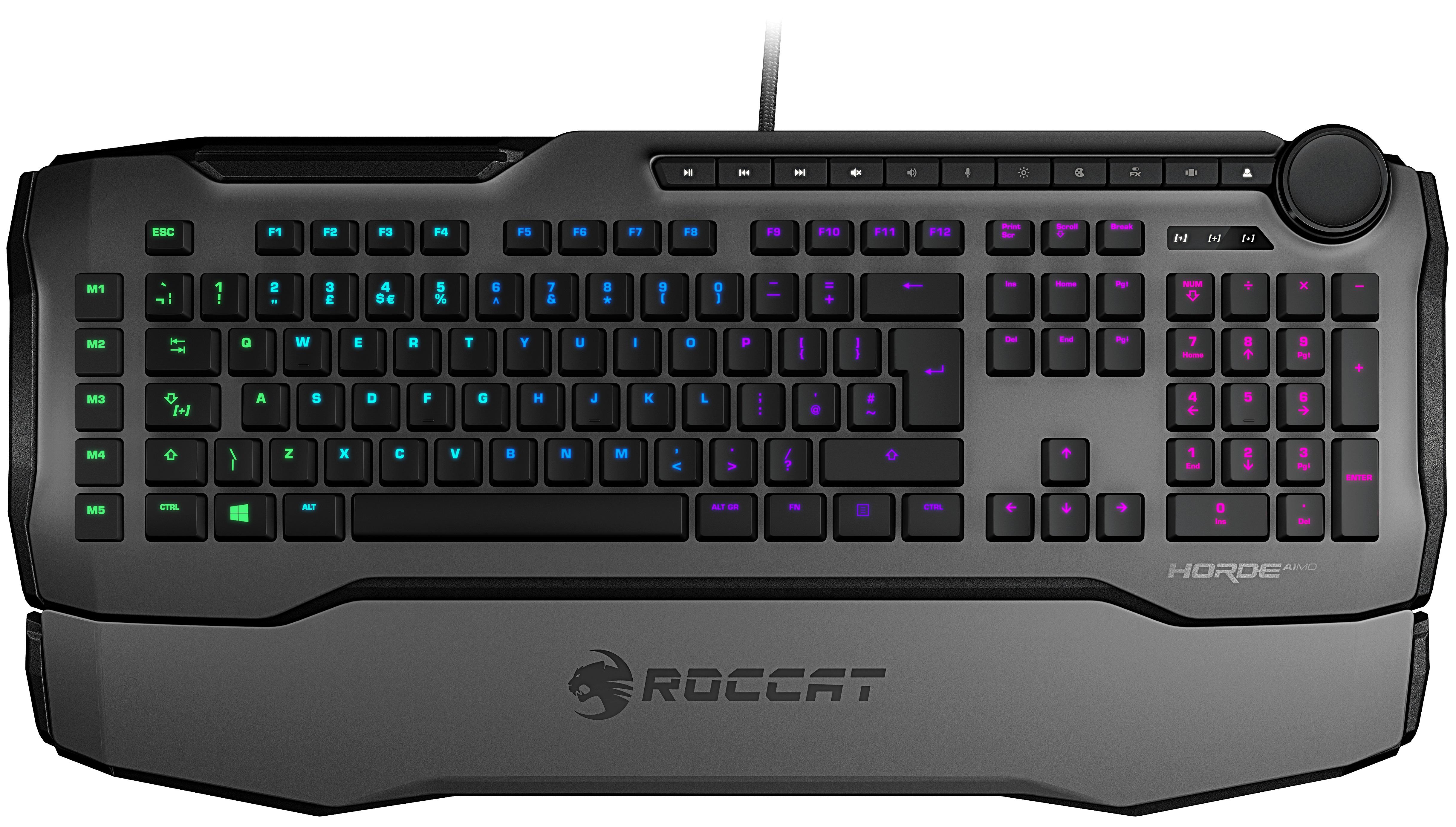 Nüüd saadaval: Roccat Horde Aimo klaviatuur