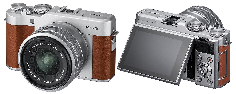 Fujifilm X-A5 hübriidkaamera toob võimsama protsessori ja faasituvastusega autofookuse