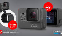 Mine seiklema - GoPro HERO5 Black soodushinnaga + kaasa funktsionaalne kingitus
