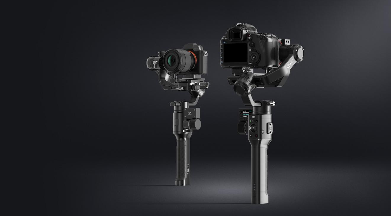 DJI esitleb Ronin-S käsistabilisaatorit peegel- ja hübriidkaameratele