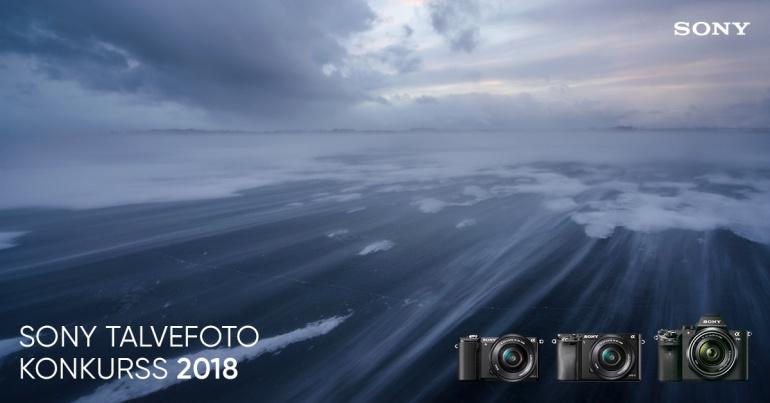 Sony Talvefoto 2018 konkurss on alanud - võitjale Sony täiskaader hübriidkaamera