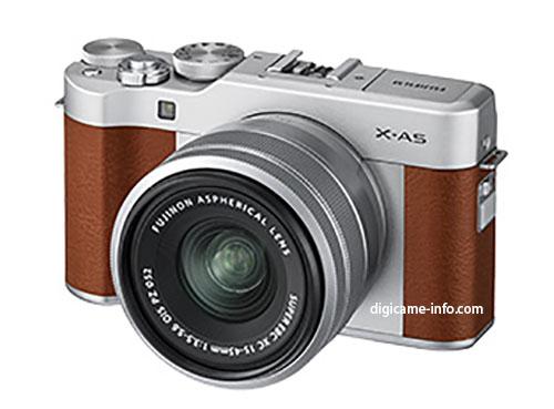 Lekkinud on tulevase Fujifilm X-A5 hübriidkaamera esimesed tootefotod