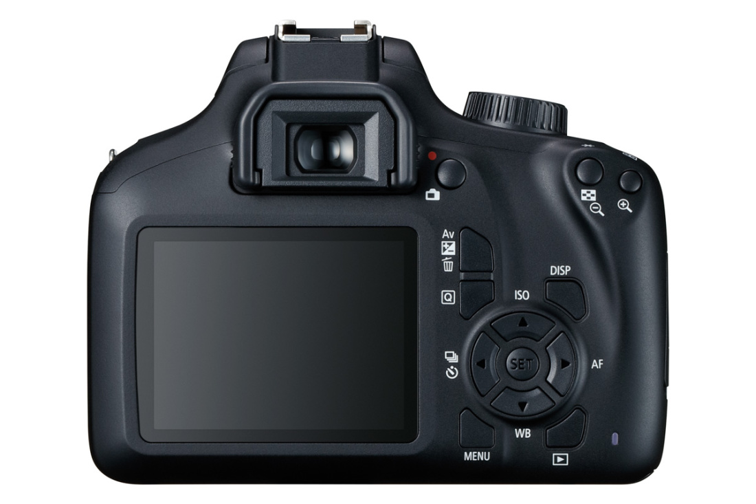 Canon EOS 4000D kaamera + 18-55mm III objektiiv