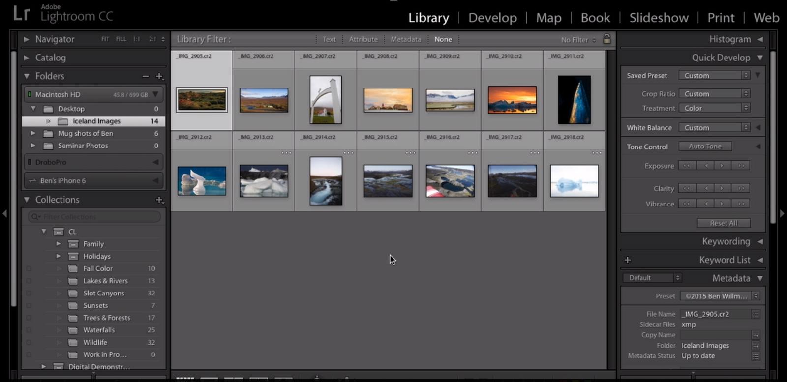 Adobe Lightoom Classic CC tarkvarauuendus sai omakorda vigade paranduse