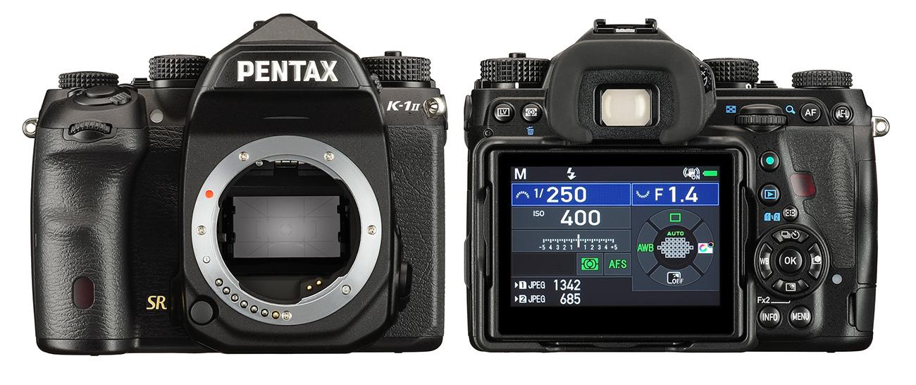 Pentax K-1 Mark II täiskaadersensoriga peegelkaamera lubab paremat pildikvaliteeti
