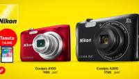 Stiilselt saledate Nikon Coolpix A100 või A300 ostul kingituseks mälukaart