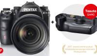 Täiskaadersensoriga Pentax K-1 kuni 500€ soodsam + kingituseks akutald
