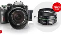 Pentax K-70 peegelkaamera kuni -100€ ja lisaks valgusjõuline kingitus