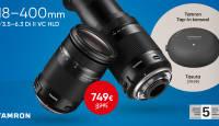 Tohutu suumiga Tamron 18-400mm objektiivi ostul kingituseks TAP-IN konsool